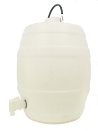 Basic White Barrel with Pressure Release Cap