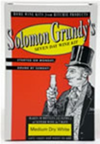 Solomon Grundy 30 Bottle White